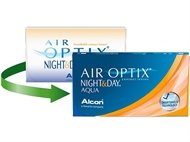 Air Optix Aqua Night & Day (3 lentes)