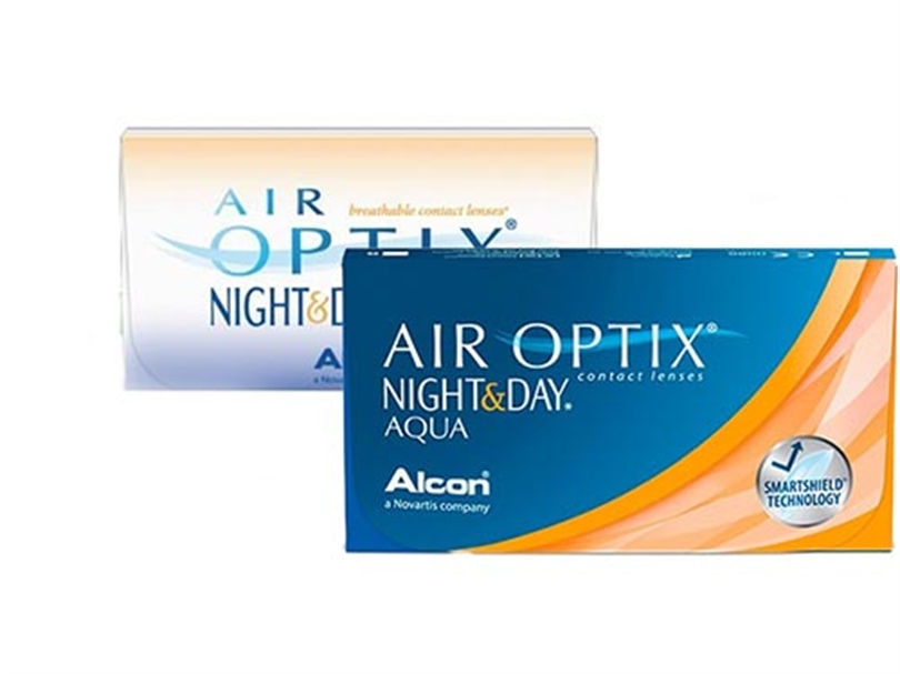 Air Optix, Air Optix Aqua Night & Day (6 lentes), Air Optix Aqua Night & Day 6 lentes,